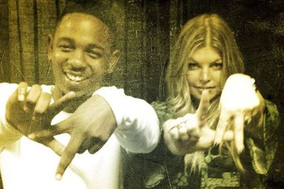 @fergie: #putyourheartsup & show some #LALOVE 4 @kendricklamar & his #ilovemyself #lyricvideo.