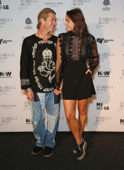 Model Bambi Northwood-Blythe and her husband Dan Single (formerly of Ksubi) will debut their co-designed collection P.Jame.