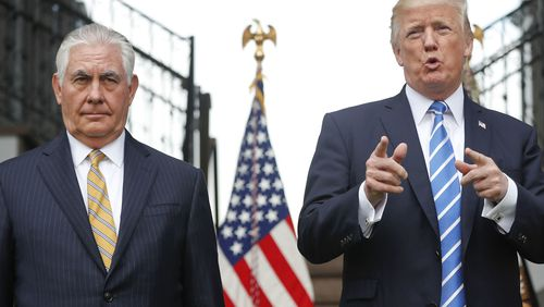 Rex Tillerson was fired unceremoniously by Donald Trump.