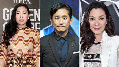 Awkwafina, Tony Leung Chiu-Wai, Michelle Yeoh