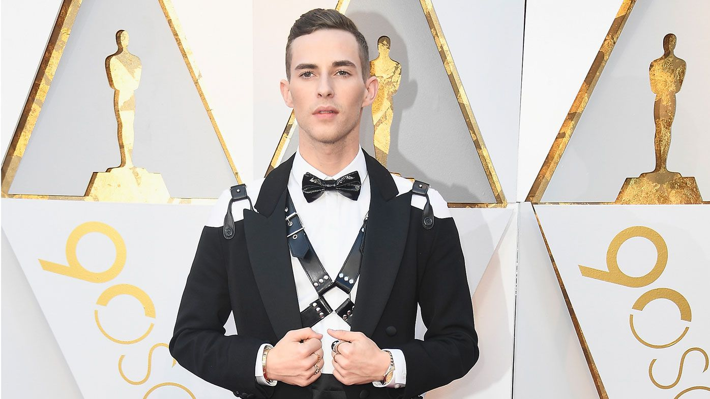 Olympian Adam Rippon's Oscar Tux And Harness Are Gold Medal-Worthy