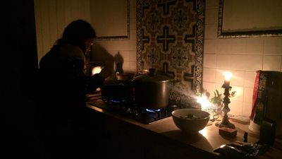 """WOOHOO! Power is back in 5069 - Norwood, Payneham & St Peters. So much for that candle-lit dinner!"" (Twitter/@MadeleineDunne)"