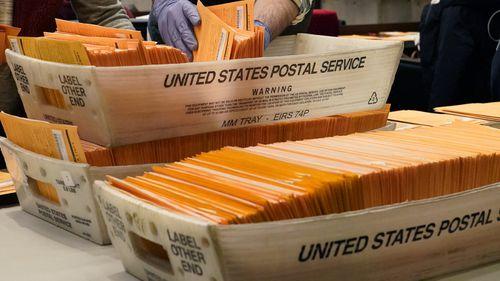 US mail ballots