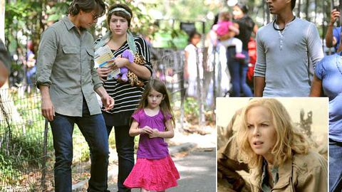 Report: Connor and Isabella Cruise 'instructed' to reject mum Nicole Kidman