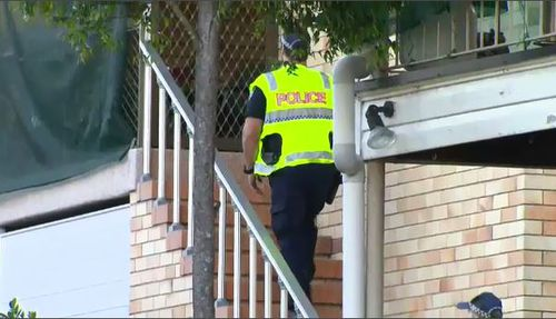 Officers are combing through the property to find the source of the fire and explosion. (9NEWS)