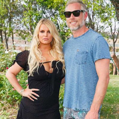 Jessica Simpson and Eric Johnson.