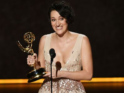 Phoebe Waller Bridges accepts Emmy Award