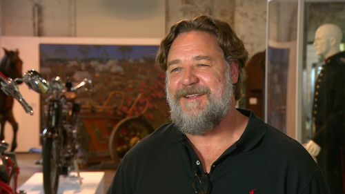 """Crowe said he just wanted """"a bit of clear space"""". (9NEWS)"""