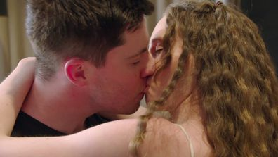 Belinda and Patrick embrace Intimacy Week... and each other