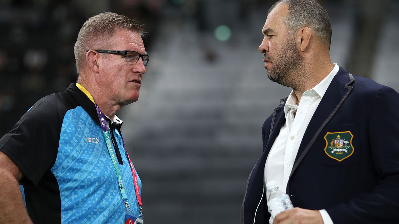 Rugby World Cup: Fiji coach hits back at Michael Cheika criticism after citing controversy