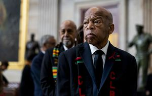 Obama pays tribute after civil rights legend John Lewis dies aged 80