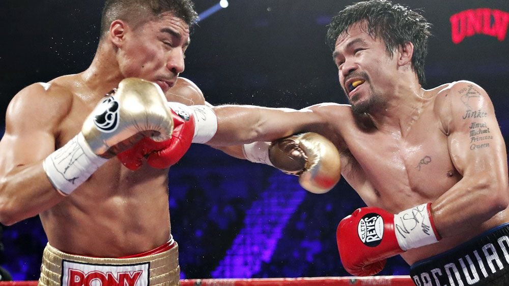 Manny Pacquiao was too good for Jessie Vargas. (AAP)
