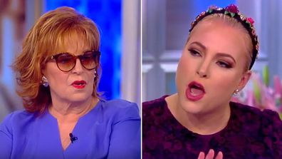 Meghan McCain and Joy Behar from The View