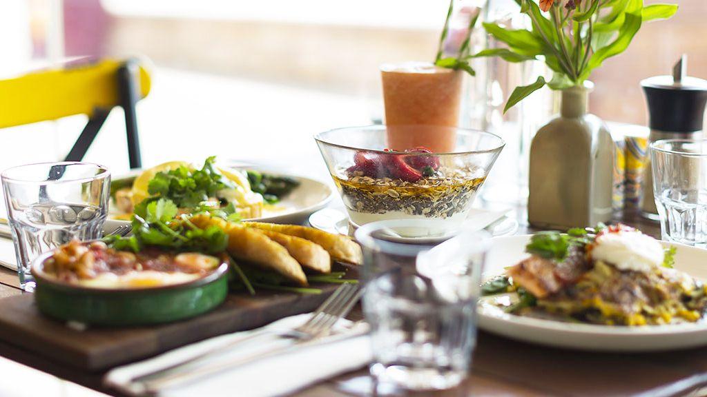 brisbane_eatfirefly_travel.jpg Firefly Café dishes on table (supplied)