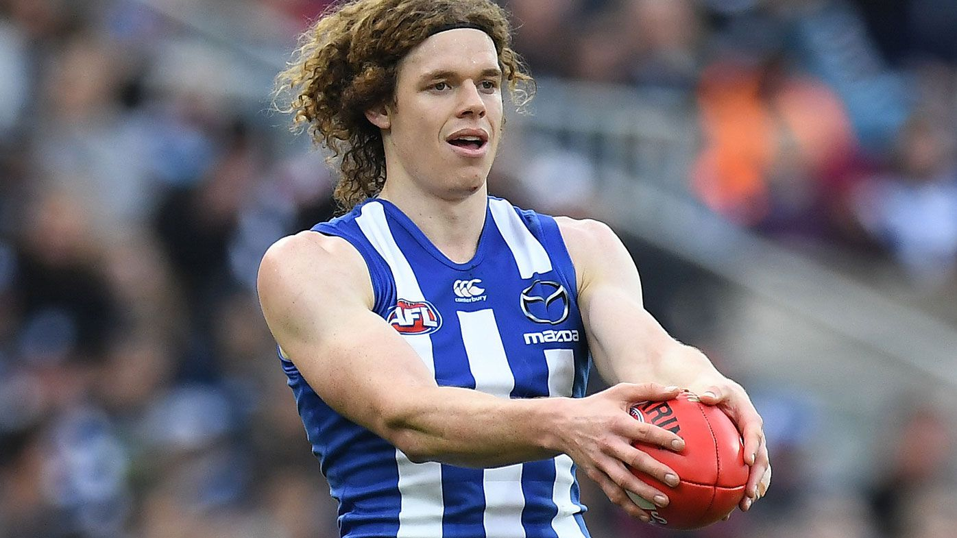 Kangaroos' Ben Brown boots four as North Melbourne down Gold Coast Suns in AFL