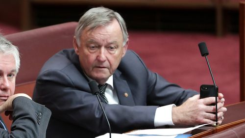 Labor senator Alex Gallacher died yesterday. He had taken leave after being diagnosed with cancer in July last year.