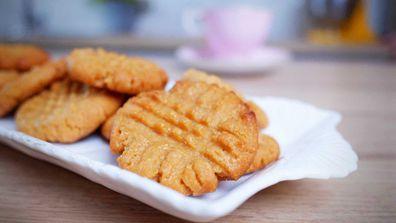 9Honey Quarantine Kitchen three-ingredient peanut butter cookies