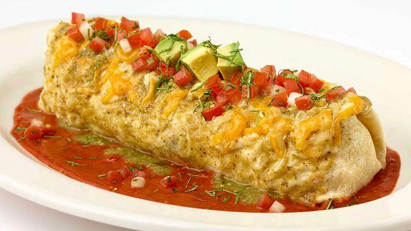 Cheesecake Factory breakfast burrito