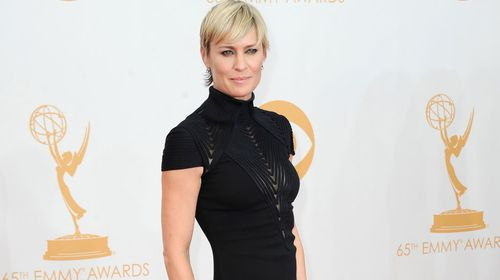 Actress Robin Wright has been nominated for netflix blockbuster 'House of Cards'.