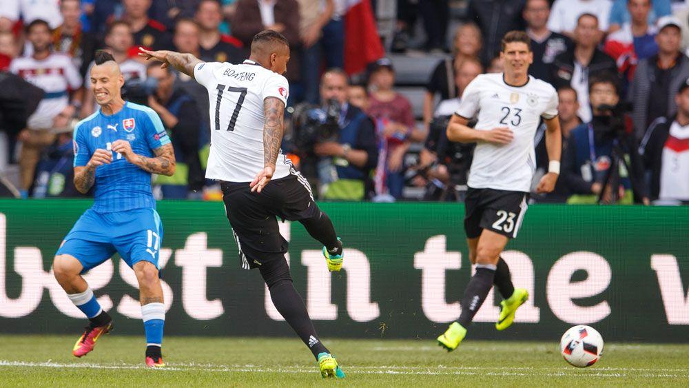 Germany thump Slovakia