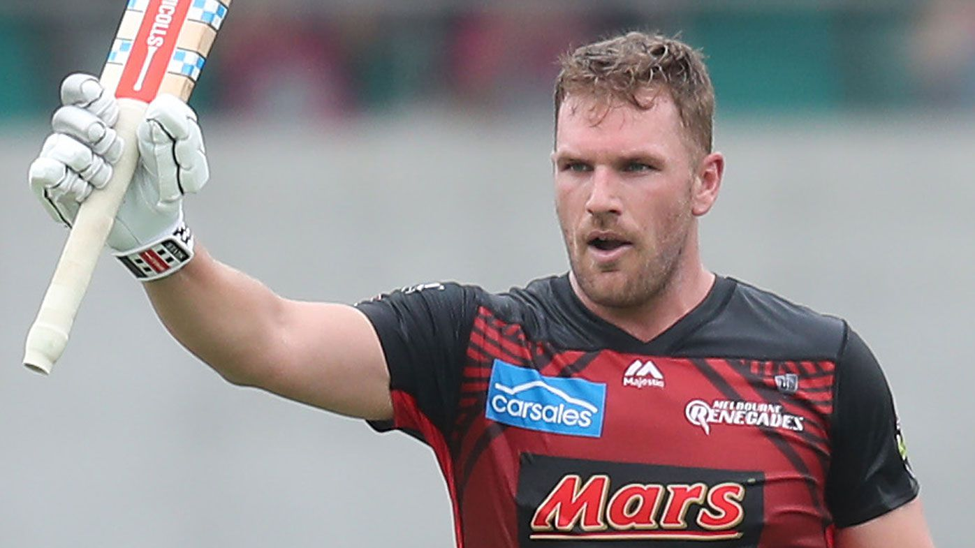 Melbourne Renegades captain Aaron Finch says BBL ton meaningless in another loss