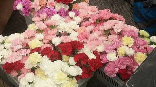 US high school student gives flower to every girl in his school for Valentine's Day