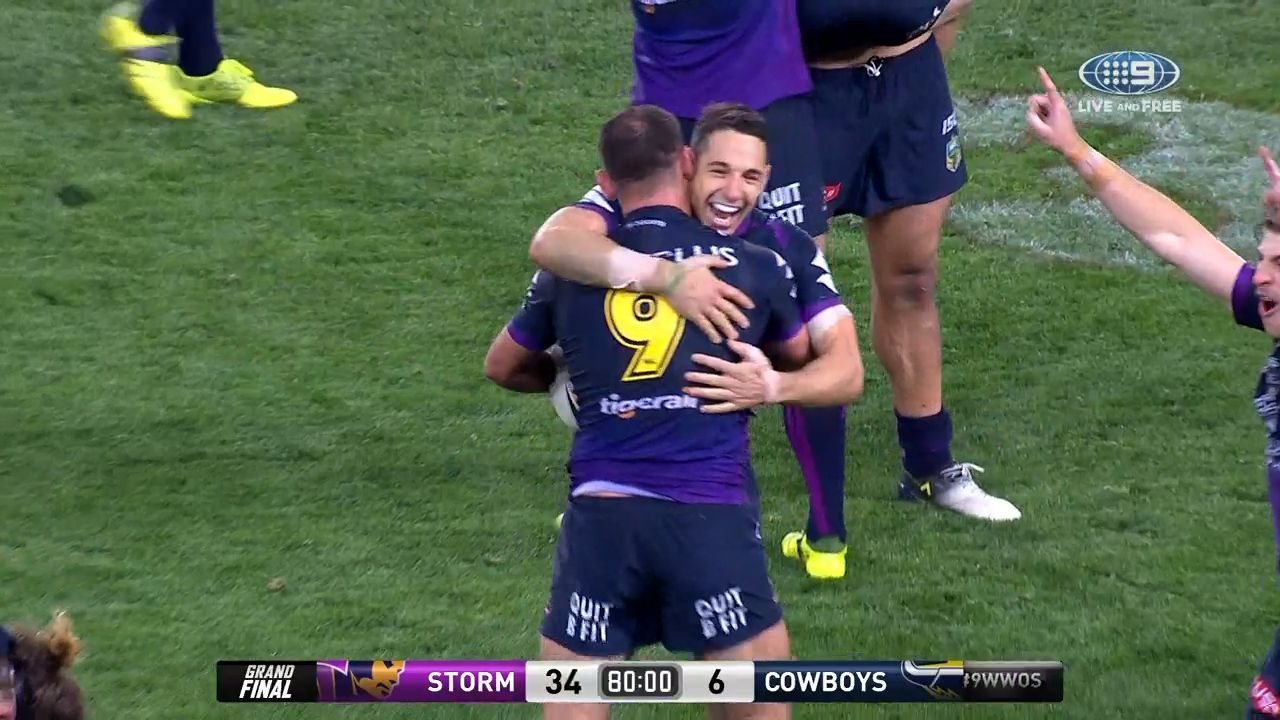 Storm beat Cowboys in NRL GF
