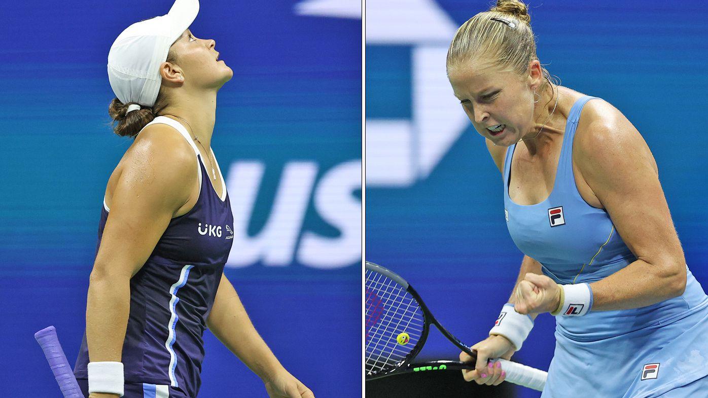 Ash Barty upset by Shelby Rogers at US Open, Ajla Tomljanovic loses to Karolina Pliskova