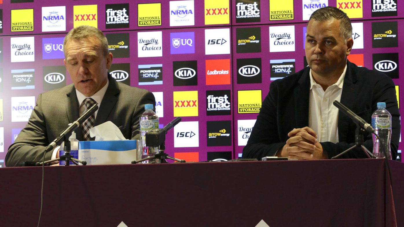 Broncos CEO Paul White defends role as Anthony Seibold joins coaching casualties