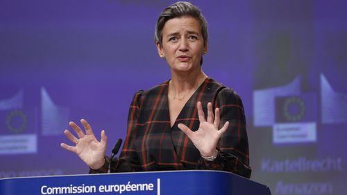 European Executive Vice-President Margrethe Vestager