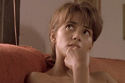It's even more award-worthy if you have to do it with Billy Bob.<br/><br/>Example: Halle Berry in <i>Monster's Ball</i> (won), Naomi Watts in <i>Mulholland Drive</i> (nominated).