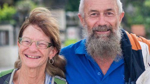 John Gotts and his wife Ellen.