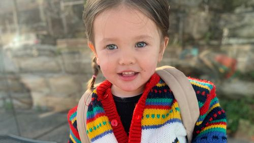 Frankie Raunjak has been separated from her mum for three weeks due to border closures.