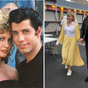 Olivia Newton-John and John Travolta bring back iconic Grease characters