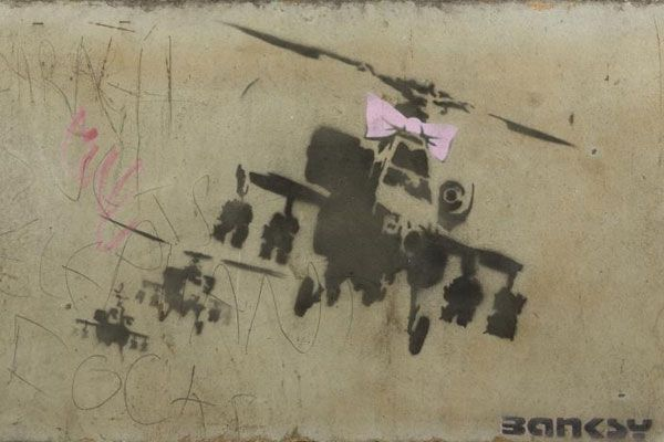 Banksy's Happy Chopper (Julien's Auctions)