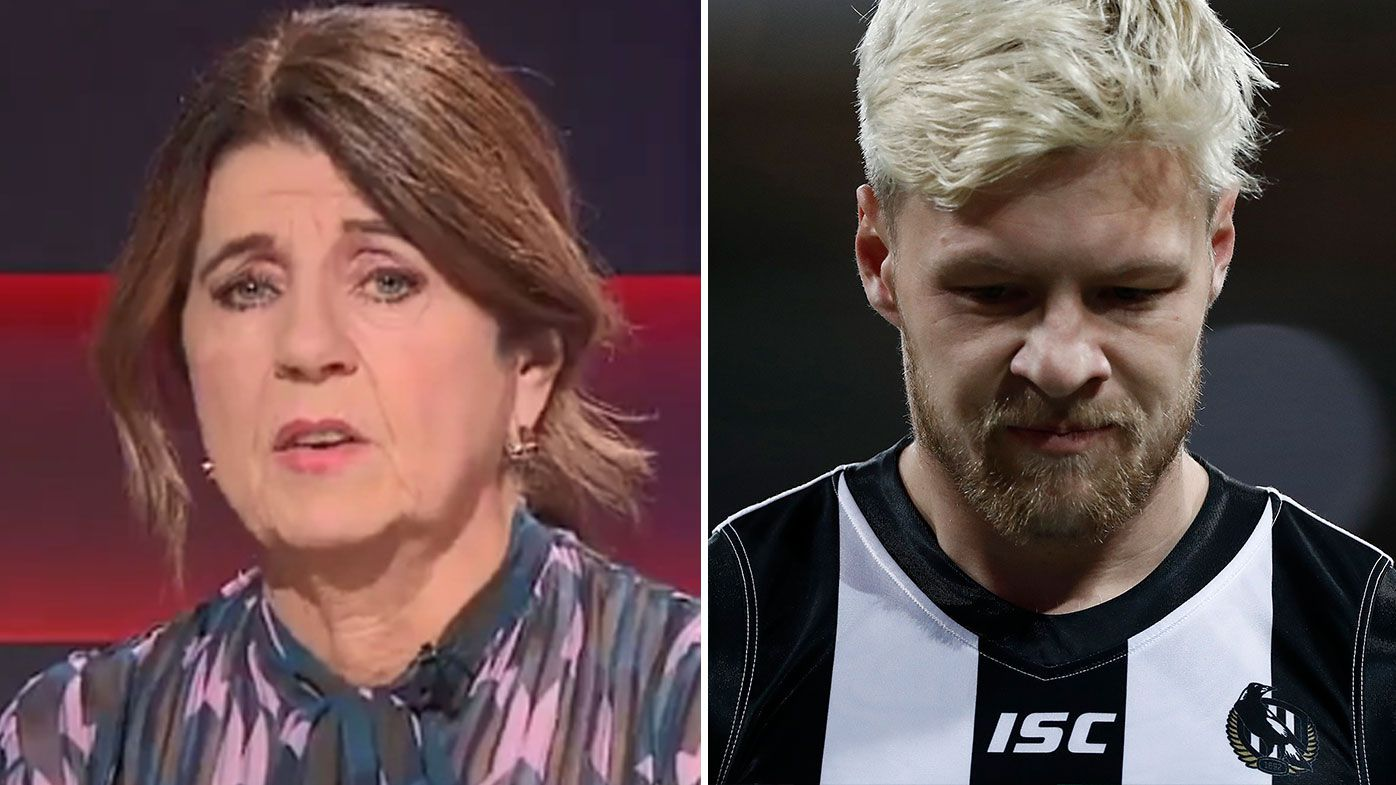 Caroline Wilson questions AFL's silence on Collingwood star Jordan De Goey's indecent assault charges
