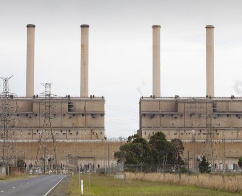 The Hazelwood coal fired power station in the Latrobe Valley, Victoria. (AAP)