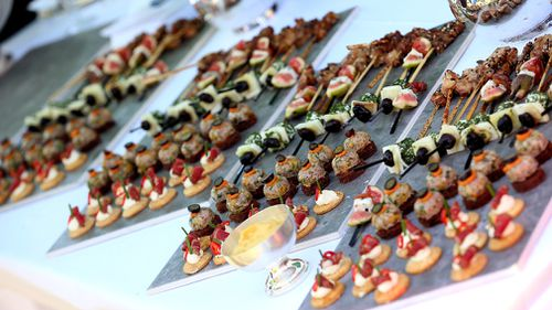 One function that only saw canapes served cost $34,700. File image: AAP