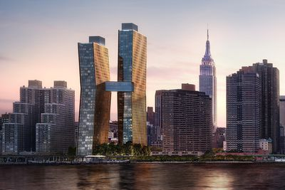 <strong>Best Tall Building Americas: American Copper Buildings, New York</strong>