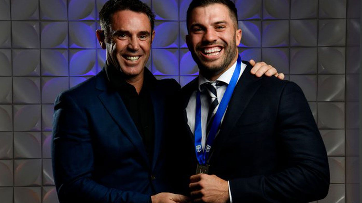 Brad Fittler and Brad Fittler Medallist James Tedesco