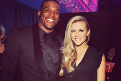Admittedly, other faves didn't mind the odd 'selfie with a sports star.' Brooklyn Decker posed away... <br/>