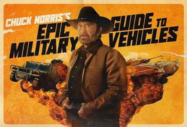Chuck Norris's Epic Military Vehicles