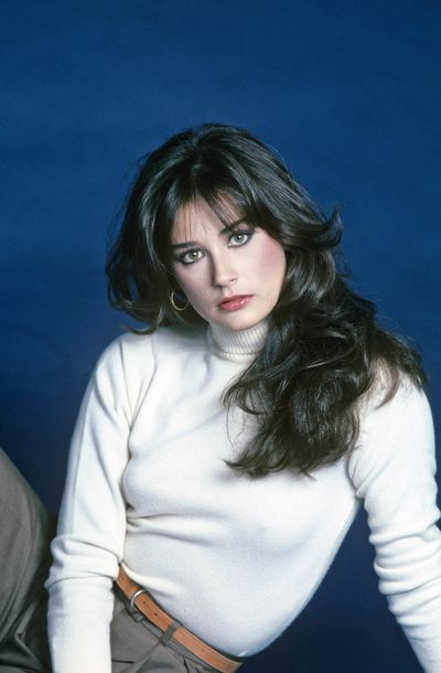 <p>Demi Moore in 1981 posing for the television soap <em>General Hospital</em>.</p> <p>See other ageless women redefining beauty.</p>
