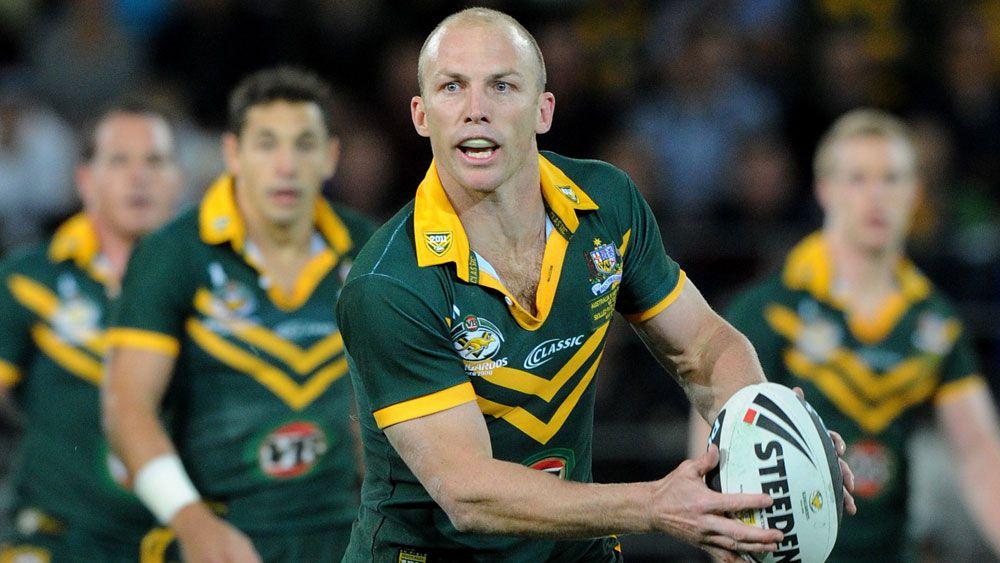 Darren Lockyer in action for the Kangaroos. (AAP)