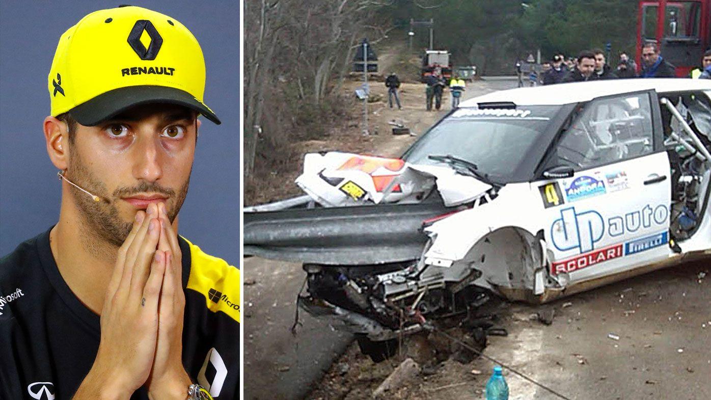 Daniel Ricciardo's heartfelt tribute to returning driver Robert Kubica