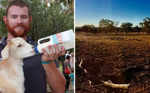 Drew Shearman says the landscape in large parts of northern NSW has changed dramatically during the drought. (Photos: Supplied).