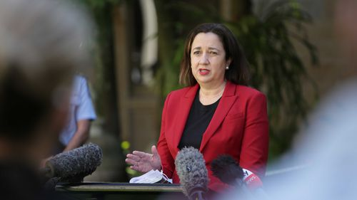 Ms Palaszczuk said she has requested more research on how opening up Queensland would impact young children as her government comes under pressure to commit to the Federal Government's plan as COVID-19 vaccination rates increase.