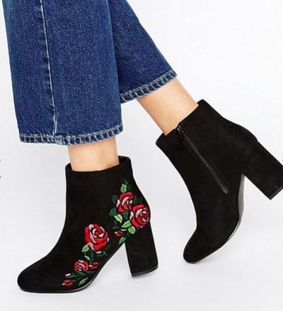 """<a href=""""http://www.asos.com/au/asos/asos-rule-embroidered-ankle-boots/prd/7094589?iid=7094589&amp;clr=Black&amp;SearchQuery=embroidered"""" target=""""_blank"""">Asos </a>embroidered ankle boots, $75<br>"""