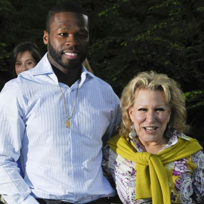 50 Cent and Bette Midler