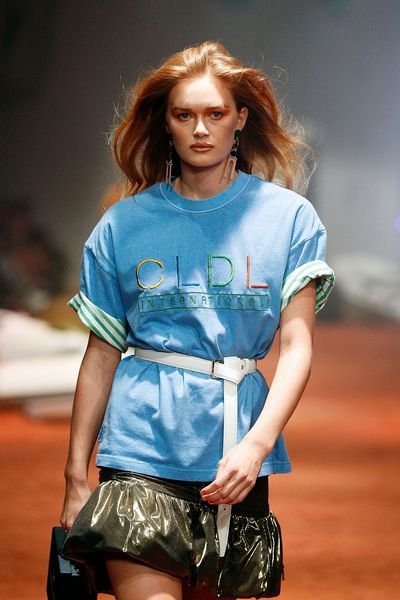 "<p><strong><em>Client Liaison Mercedes Benz Fashion Week '18</em></strong><br> <br> Renya Xydis, Valonz Creative Director and Cloud Nine Ambassador, brought back '80s hair to the runway for the musucial duo's first-ever runway spectacular.</p> <p>""I wanted to embody and draw inspiration from one of America's highly renowned models and actresses, Brooke Shields, to create the ultimate 80's hair,"" said Xydis in an official press release.</p> <p>""Working at building the hair by creating volume, texture and oomph by using the Cloud Nine O Pod for blow-out styles and the Cloud Nine Curling Wand to form the hairstyle structure for the curly high ponies, sealing with styling products to hold the look.""</p>"